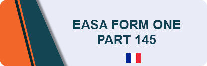 EASA Form 1 Part 145 - Entretien
